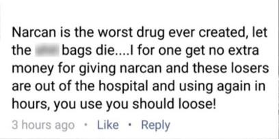 Narcan Post