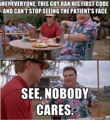 Nobody cares meme
